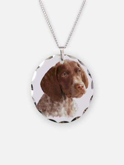 German Shorthair Puppy Necklace