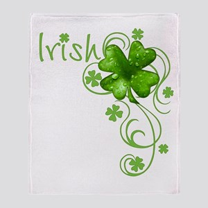 Irish Keepsake Throw Blanket