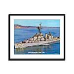 USS LOFBERG Framed Panel Print