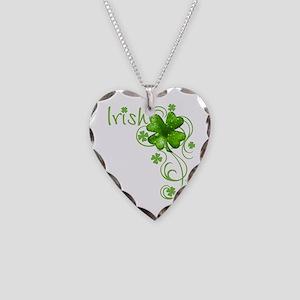 Irish Keepsake Necklace Heart Charm