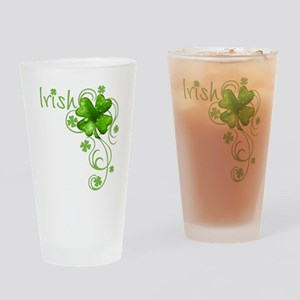 Irish Keepsake Drinking Glass