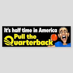 Halftime in America Sticker (Bumper)