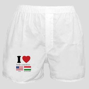 USA-HUNGARY Boxer Shorts