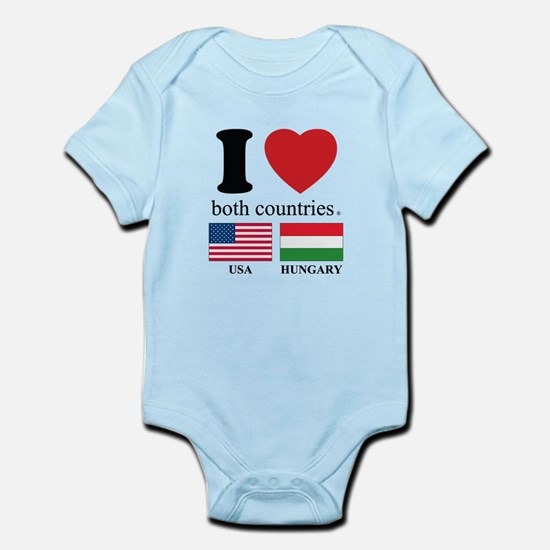 USA-HUNGARY Infant Bodysuit