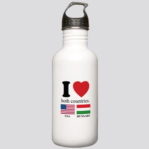 USA-HUNGARY Stainless Water Bottle 1.0L