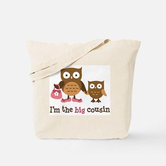 Big Cousin - Mod Owl Tote Bag