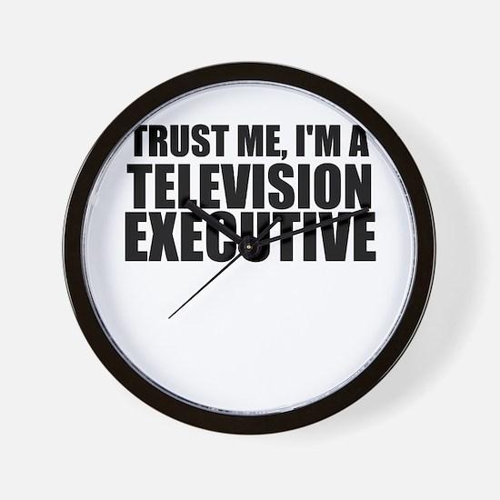 Trust Me, I'm A Television Executive Wall Cloc