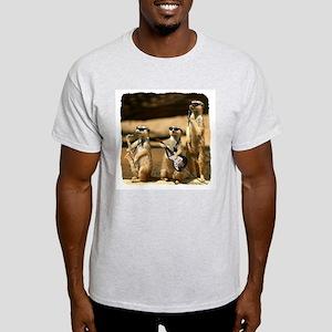Meerkat Trio Light T-Shirt