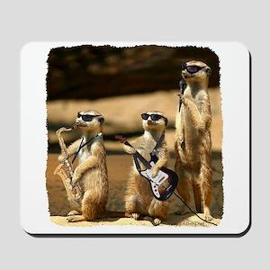 Meerkat Trio Mousepad
