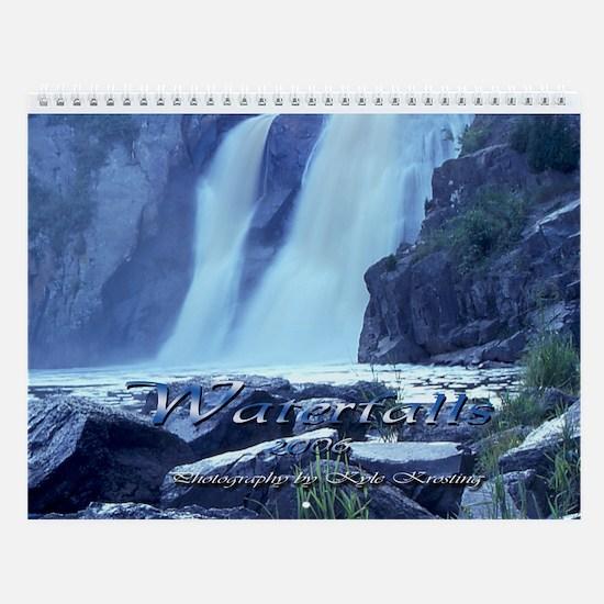 Waterfalls 2006 Wall Calendar