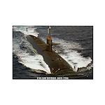 USS LOUISVILLE Rectangle Magnet