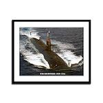 USS LOUISVILLE Framed Panel Print