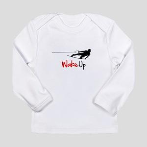 Wake Up Boarder Long Sleeve Infant T-Shirt