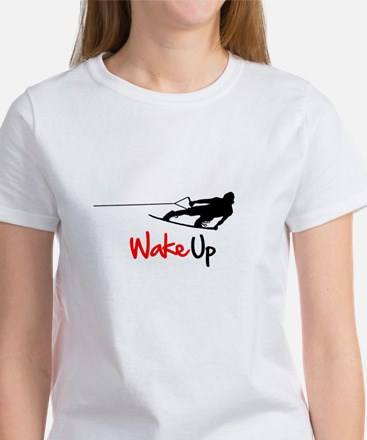 Wake Up Boarder Women's T-Shirt
