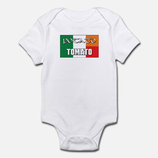 Potato Tomato Irish-Italian Infant Bodysuit