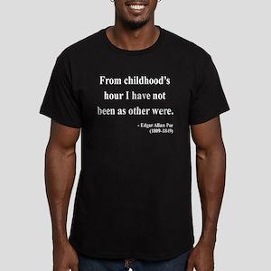 edgar allen poe 19 wtext T-Shirt
