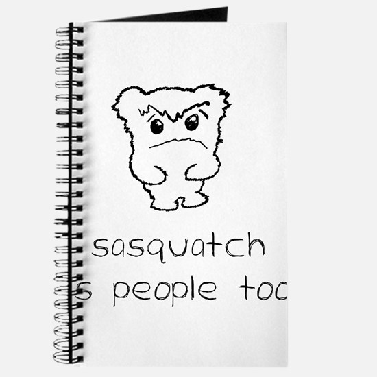 sasquatch is people too Journal