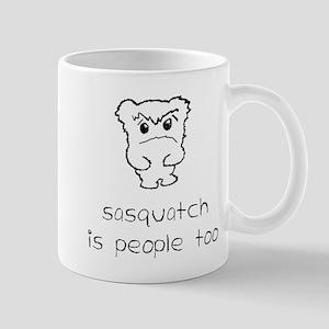 sasquatch is people too Mug