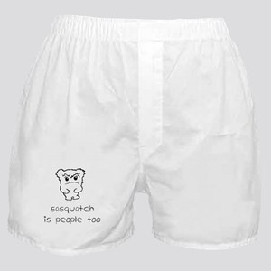 sasquatch is people too Boxer Shorts