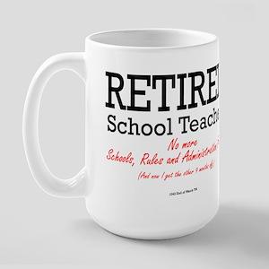 Retired Schoolteacher Mug