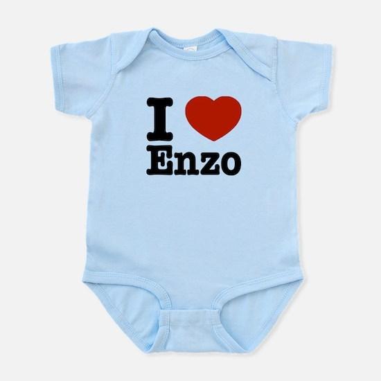 I love Enzo Infant Bodysuit