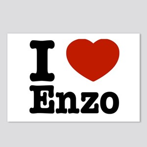 I love Enzo Postcards (Package of 8)