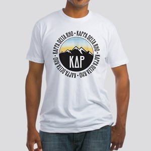 KDR Mountain Sunset Fitted T-Shirt