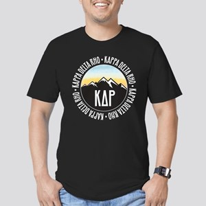 KDR Mountain Sunset Men's Fitted T-Shirt (dark)