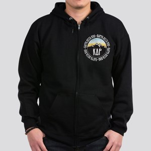 KDR Mountain Sunset Zip Hoodie (dark)