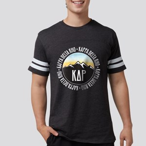 KDR Mountain Sunset Mens Football T-Shirts