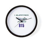 OCEANIC FLIGHT 815 Wall Clock