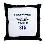 OCEANIC FLIGHT 815 Throw Pillow
