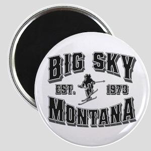Big Sky Black & Silver Magnet