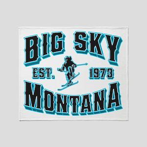Big Sky Black Ice Throw Blanket
