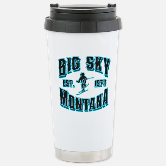 Big Sky Black Ice Stainless Steel Travel Mug