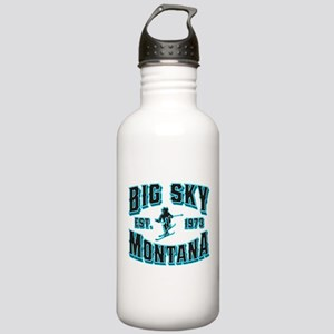 Big Sky Black Ice Stainless Water Bottle 1.0L