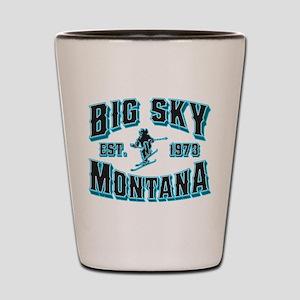 Big Sky Black Ice Shot Glass