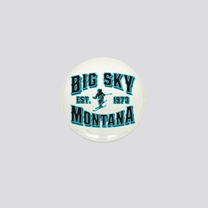 Big Sky Black Ice Mini Button