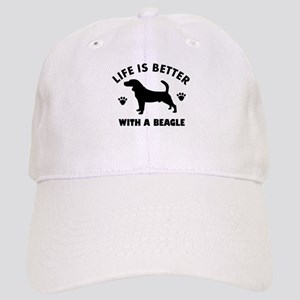 Beagle Dog Breed Design Cap