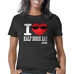 I LOVE HALF MOON BAY Women's Classic T-Shirt