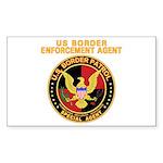 Border Patrol - Rectangle Sticker