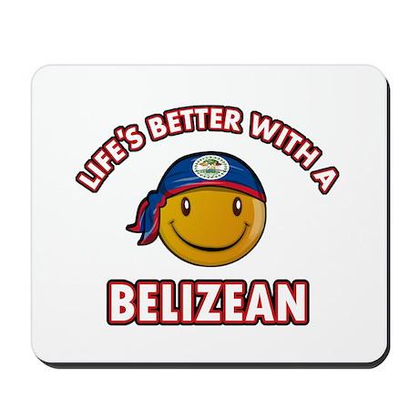 Cute Belizean designs Mousepad