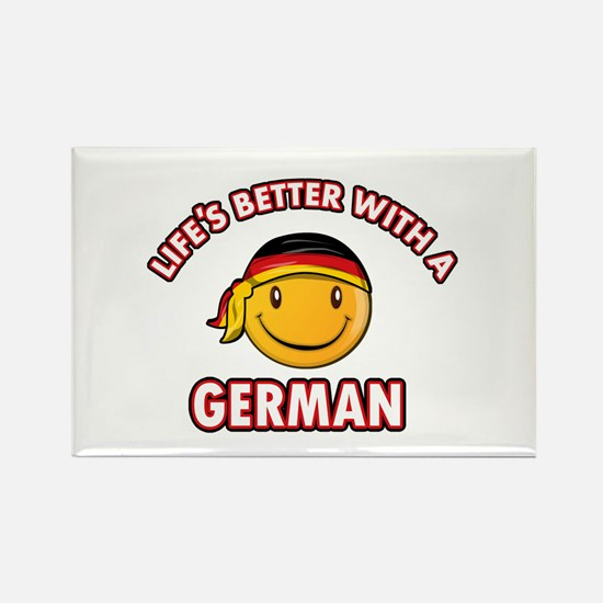 Cute German designs Rectangle Magnet