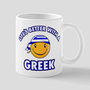 Cute Greek designs Mug