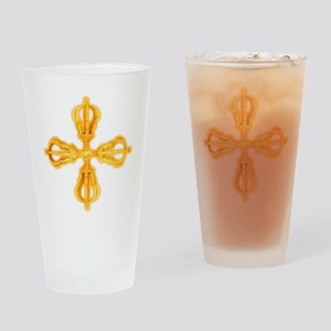 Double Dorje Drinking Glass