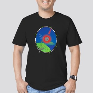 Dinos' Last Cigarette Men's Fitted T-Shirt (dark)
