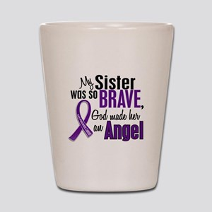 Angel 1 Pancreatic Cancer Shot Glass