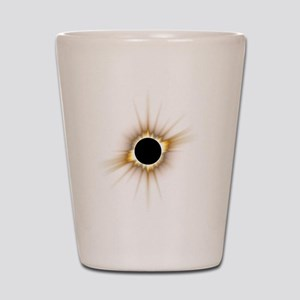 Solar Eclipse Shot Glass