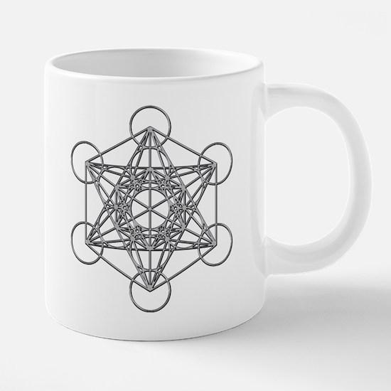 Metatrons Cube 20 oz Ceramic Mega Mug