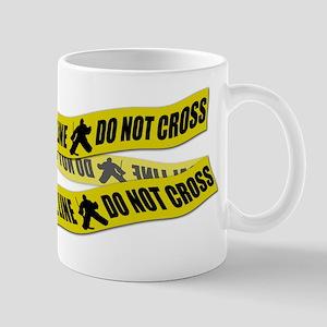 Hockey Crime Tape Mug
